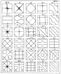 Chladni Plates patterns for different frequencies